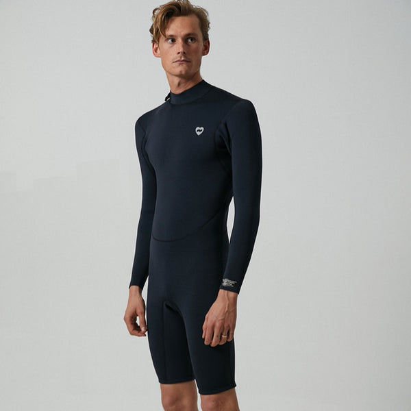 Mens Jared Mell Long Arm Spring Suit Wetsuit - BANKS JOURNAL Wetsuit