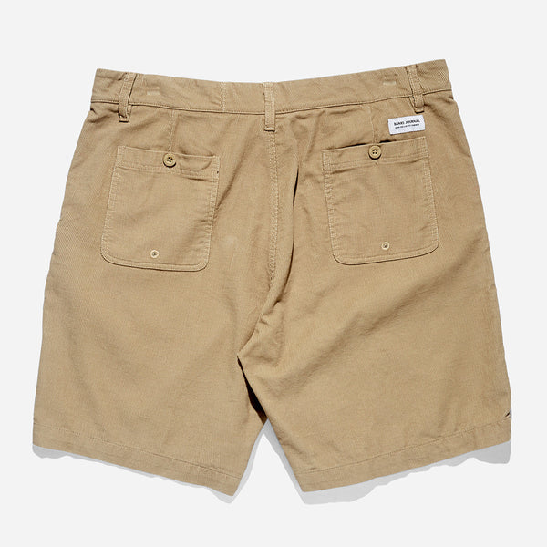 Mens Primary Cord Walkshort - BANKS JOURNAL Walkshort