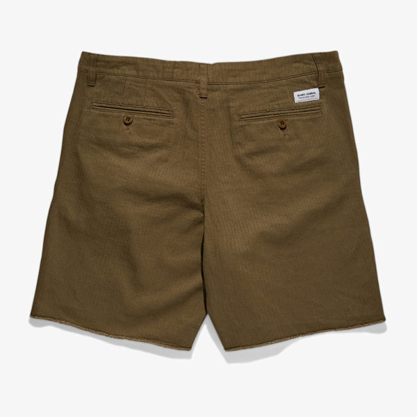 Mens Downtown Canvas Twill Walkshort - BANKS JOURNAL Walkshort