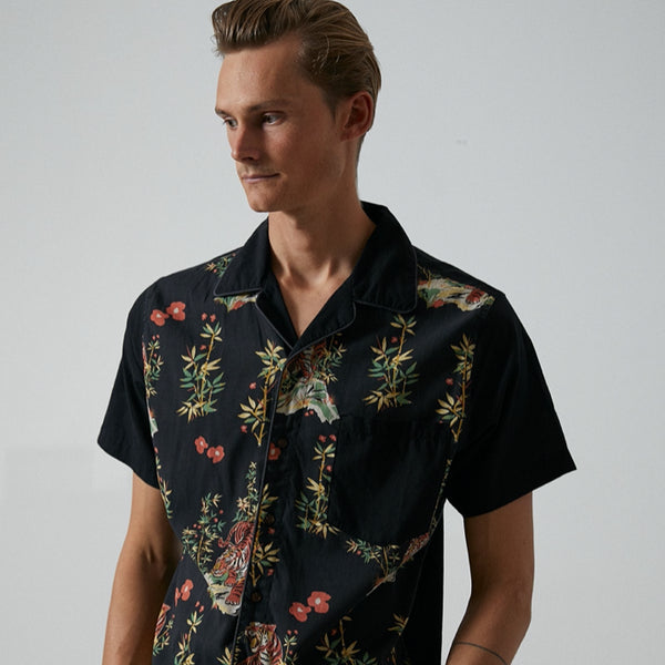 Mens Jared Mell S/S Woven Shirt - BANKS JOURNAL Woven Shirt