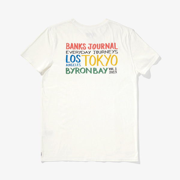 Mens Sunny Tee Shirt - BANKS JOURNAL Tee Shirt