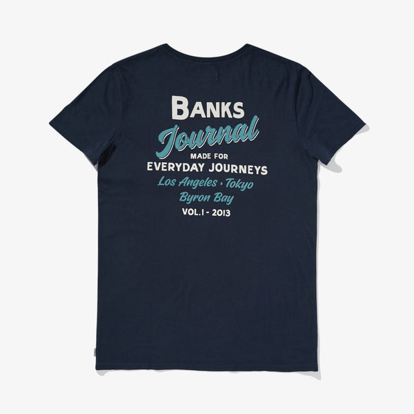 Mens Encore Tee Shirt - BANKS JOURNAL Tee Shirt