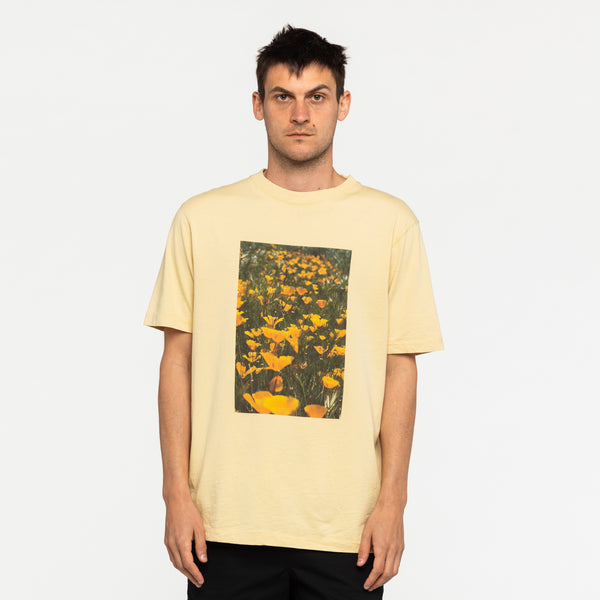 Zak Bush Flowers Tee Shirt Tee Shirt