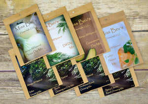 Sampler Pack-All Natural Dressing and Dip Mixes