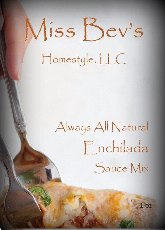 All Natural Enchilada Sauce Mix