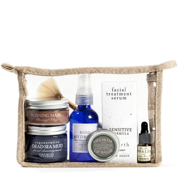 Sensitive Skin Facial Kit - Onurth Skincare