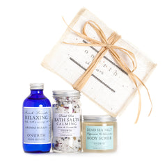 Three Favorites Gift Set with Peppermint & Lavender Body Scrub