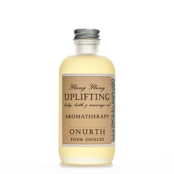Uplifting Ylang Ylang Body, Bath, Massage Oil & Aromatherapy - Onurth Skincare