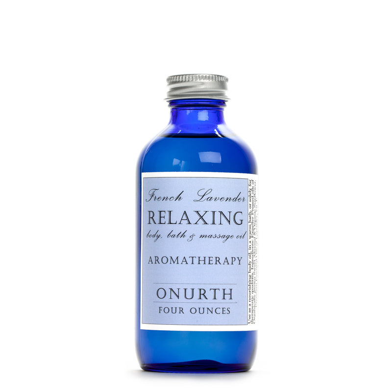 Relaxing French Lavender Body, Bath, Massage Oil & Aromatherapy - Onurth Skincare