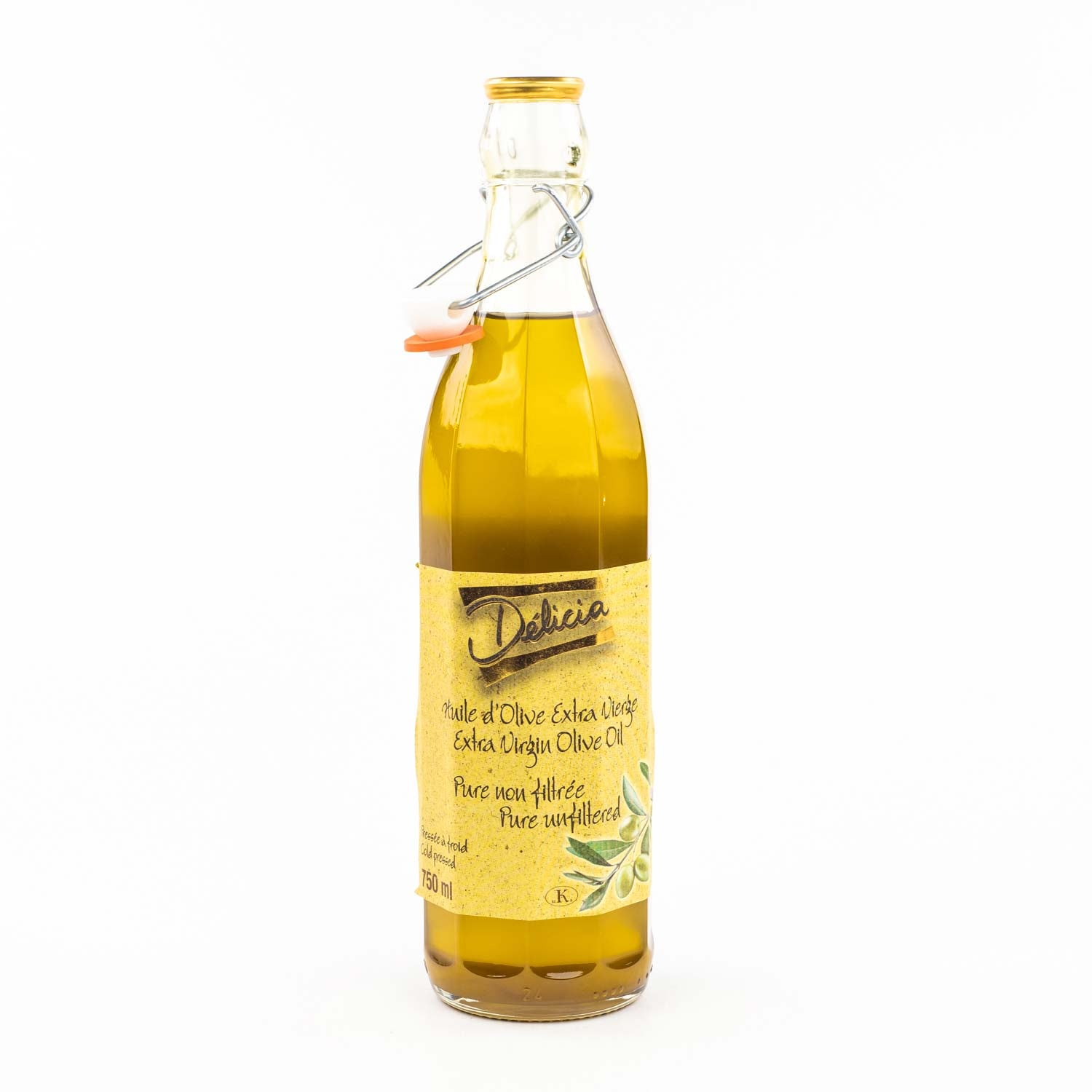 Delicia - Extra Virgin Olive Oil 750ml