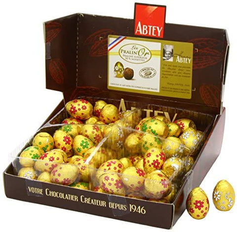 Abtey - Chocolate Praline Easter Eggs 13g