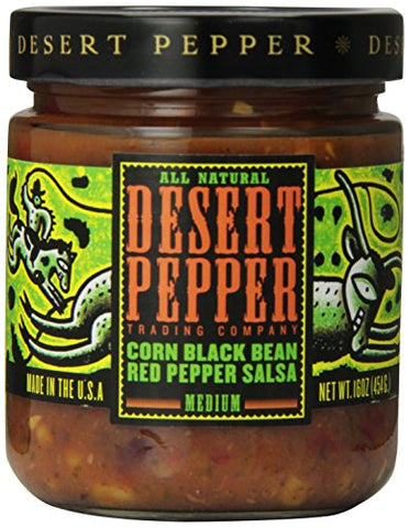 Desert Pepper - Corn & Black Bean Salsa 454g