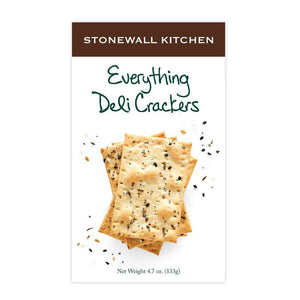 Stonewall Kitchen - Everything Deli Crackers 133g