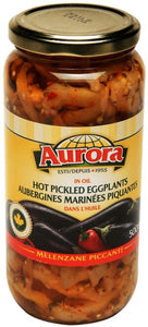 Aurora - Hot Pickled Eggplants 500ml
