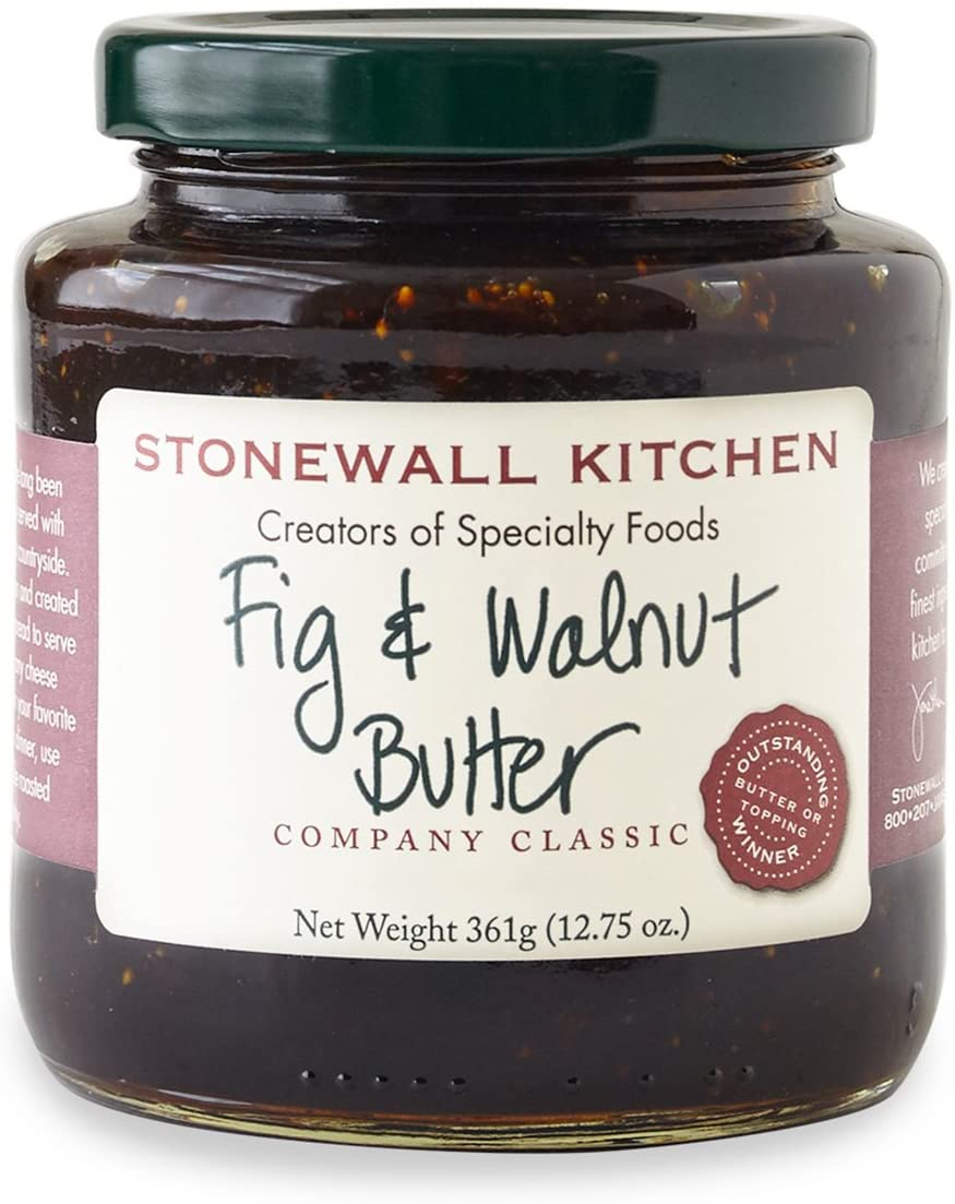Stonewall Kitchen - Fig & Walnut Butter 361g