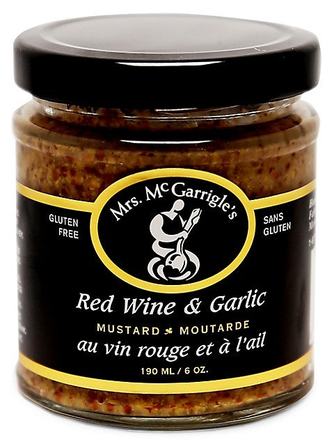 Mrs. McGarrigle's - Red Wine & Garlic 190mL