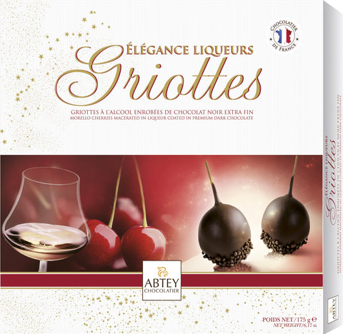 Abtey Chocolatier - Morello Cherries in Dark Chocolate 175g