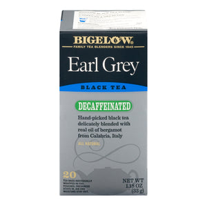 Bigelow Tea - Decaffeinated Earl Grey 33g (20 Tea Bags)