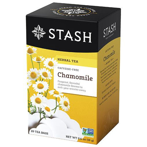 Stash Tea - Chamomile 18g (20 Tea Bags)