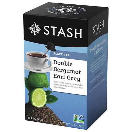 Stash Tea - Double Bergamot Earl Grey 33g (18 Tea Bags)