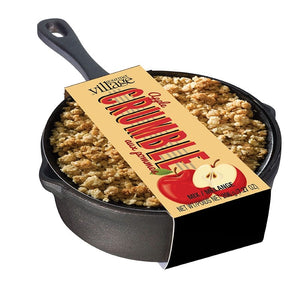 Gourmet Village - Apple Crumble Skillet Kit 206g