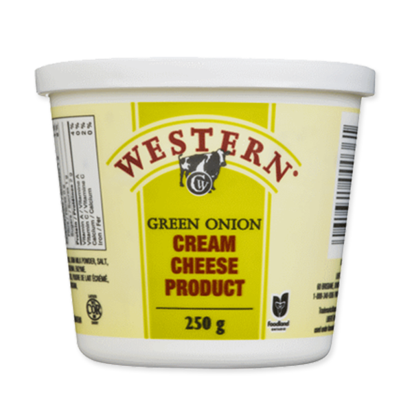 Western Cream Cheese Green Onion 250g