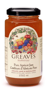 Greaves Apricot Jam 250mL