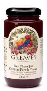 Greaves Cherry Jam 250mL