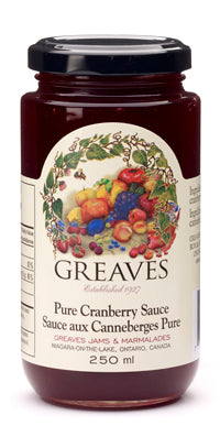 Greaves - Cranberry Sauce 250mL