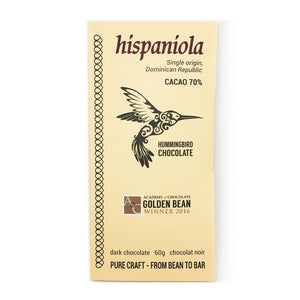 Hummingbird Chocolate Bar - Hispaniola 70% - 60g