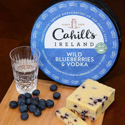 Cahill's - Cheddar w Vodka & Blueberries 150g