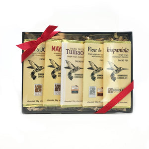 Hummingbird Chocolate Bar - Sampler 140g