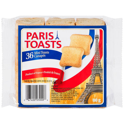 Paris Toasts 80g