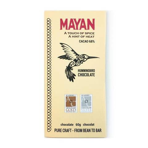 Hummingbird Chocolate Bar - Mayan 68% - 28g