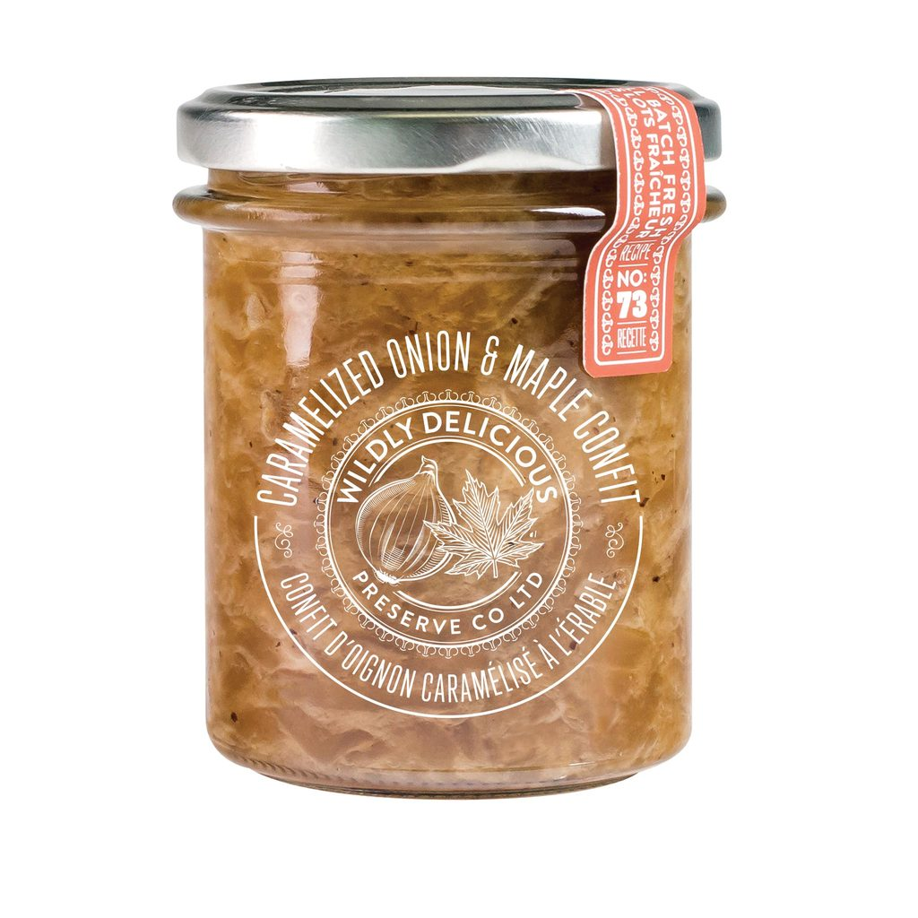 Wildly Delicious - Caramelized Onion & Maple Confit 200g