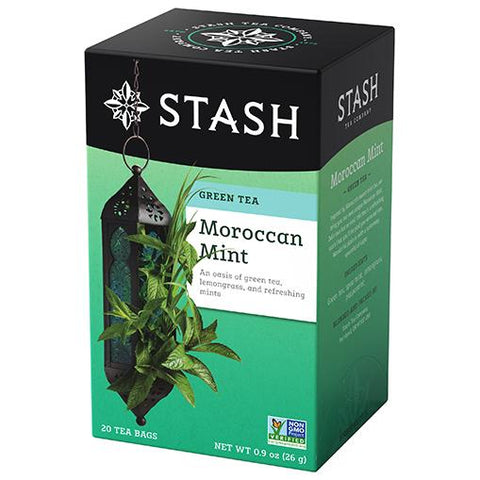 Stash Tea - Moroccan Mint 26g  (20 Tea Bags)