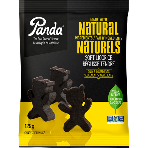 Panda - Black Licorice Bears 125g