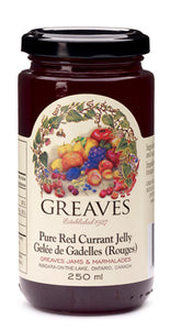 Greaves Red Currant Jelly 250mL