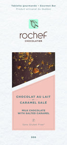 Rochef - Milk Chocolate w Salted Caramel 50g