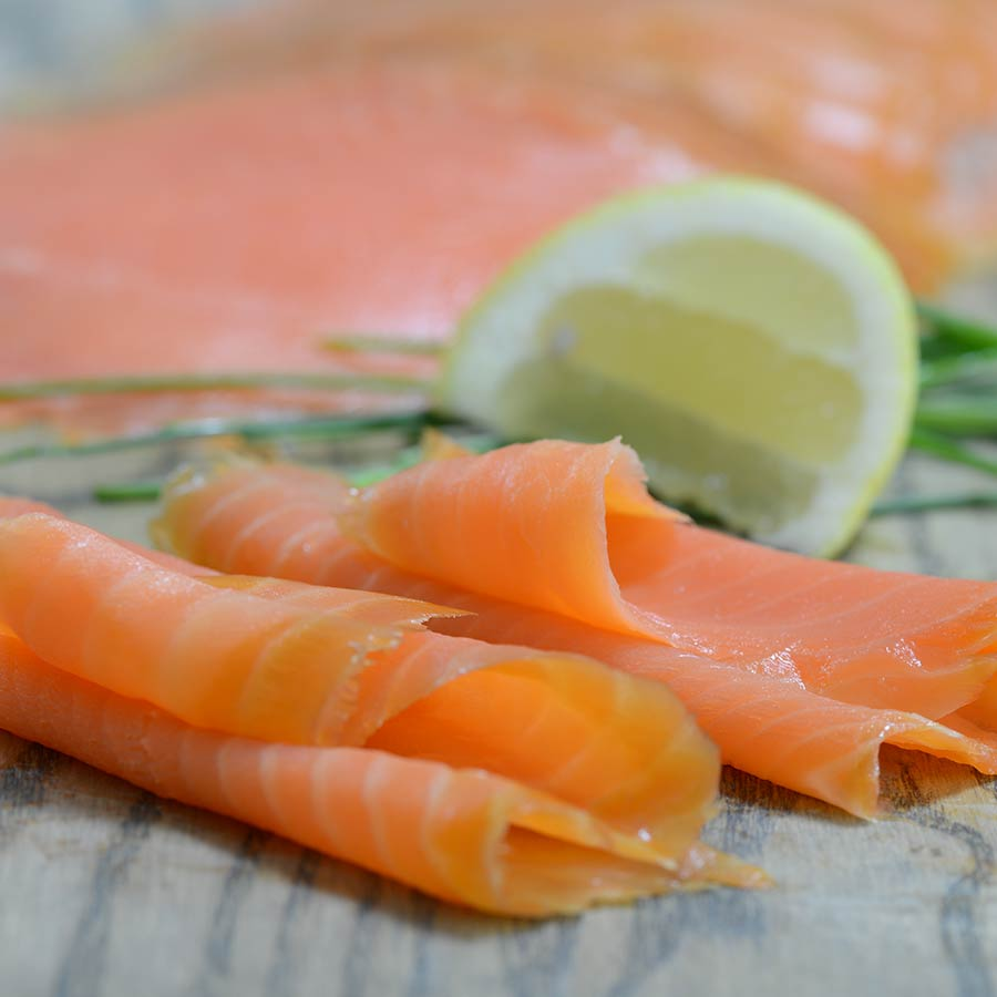 Adar - Smoked  Steelhead Salmon Sliced - 227g