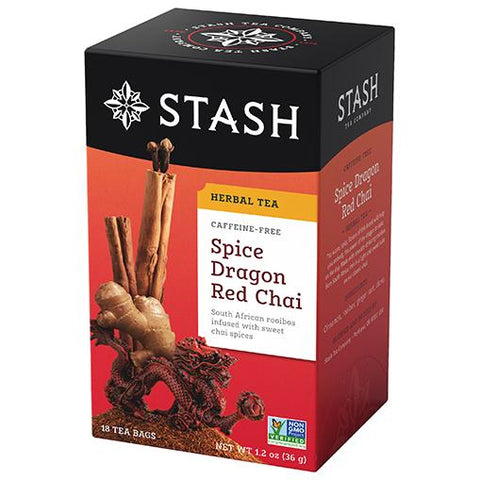 Stash Tea - Spice Dragon Red Chai 36g (20 Tea Bags)