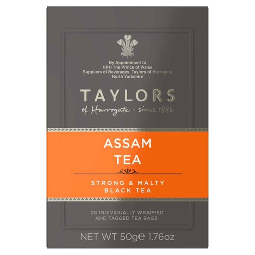 Taylors of Harrogate Tea - Assam 50g (20 Tea Bags)