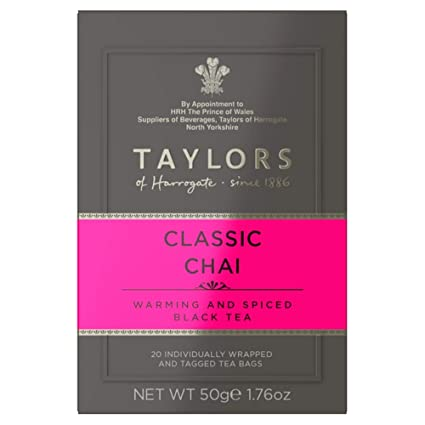 Taylors of Harrogate Tea - Classic Chai 50g (20 Tea Bags)