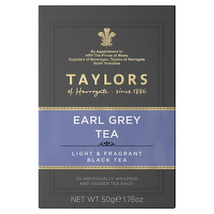 Taylors of Harrogate Tea - Earl Grey 50g (20 Tea Bags)
