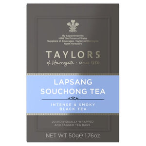 Taylors of Harrogate Tea - Lapsang Souchong Tea 50g (20 Tea Bags)