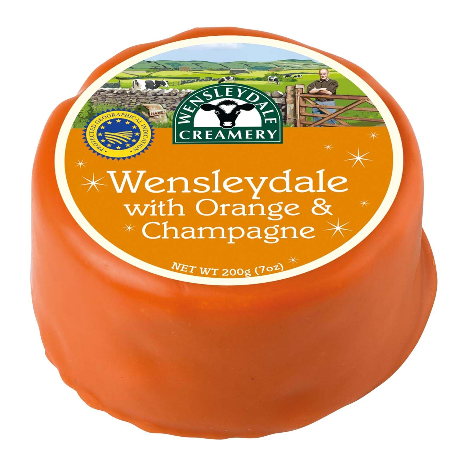 Wensleydale - Orange & Champagne 200g