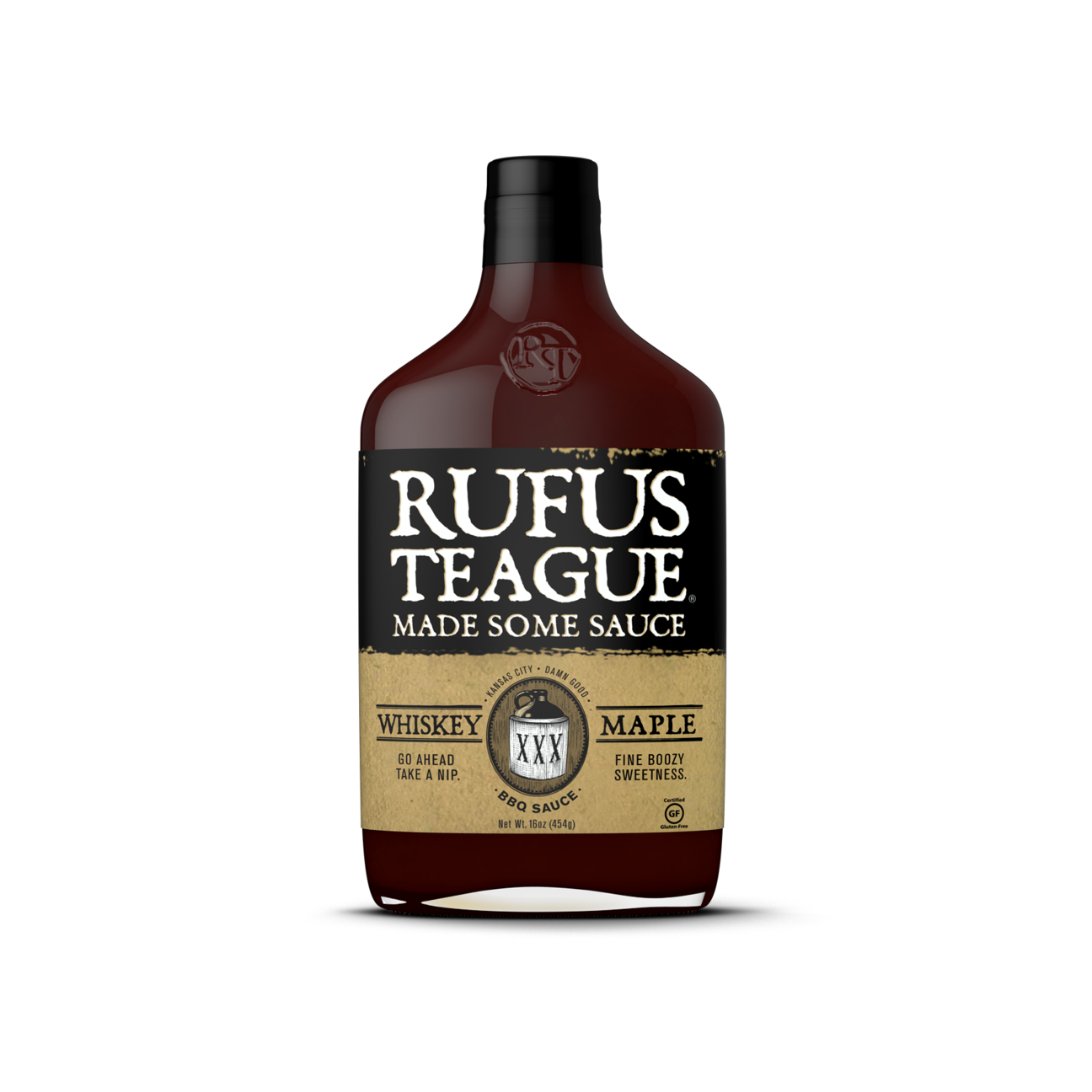 Rufus Teague - Whiskey Maple BBQ Sauce 375mL