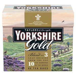 Taylors of Harrogate Tea - Yorkshire Gold 250g (80 Tea Bags)