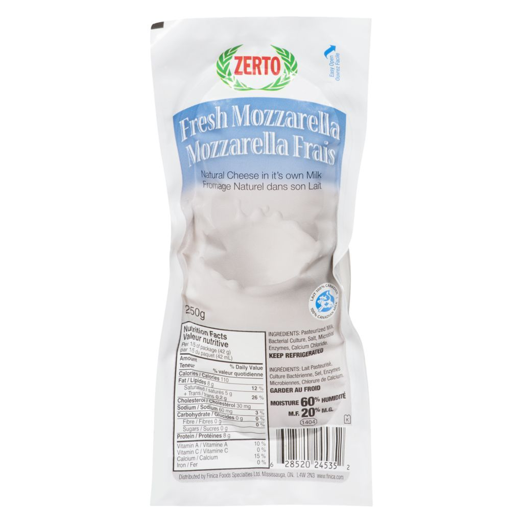 Zerto - Fresh Mozzarella 250g