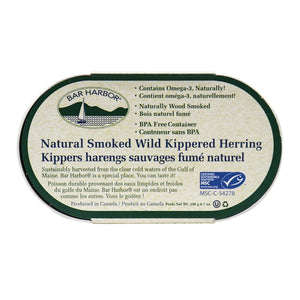 Bar Harbor - Smoked Wild Kippered Herring 190g